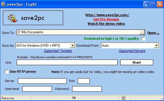 save2pc Light
